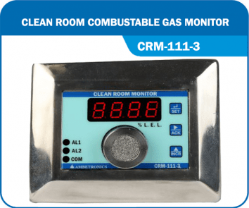 Clean Room Combustible Monitor- CRM-111-3