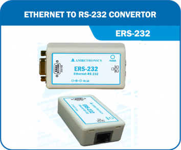 Ethernet to RS-232 Converter- ERS-485