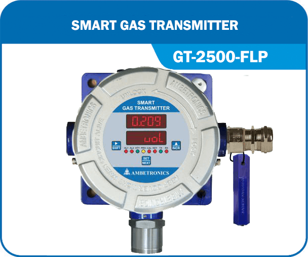 Smart Gas Transmitter- GT-2500-FLP without Hooter & blue enclosure.