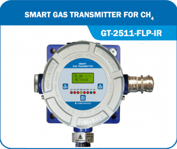 Smart Gas Transmitter- GT-2511-FLP-IR for Methane with flameproof enclosure.