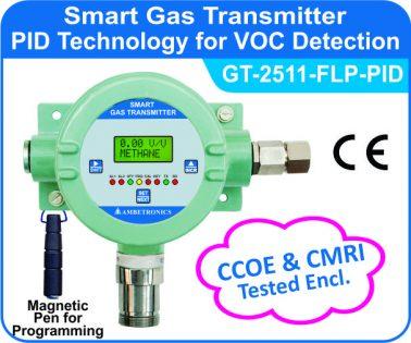 Flameproof PID VOC Detector