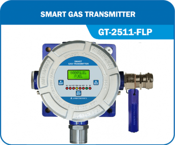 Flameproof Gas Detector GT-2511-FLP without Hooter & blue enclosure.