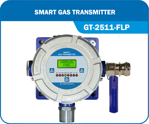 Smart Gas Transmitter- GT-2511-FLP without Hooter & blue enclosure.
