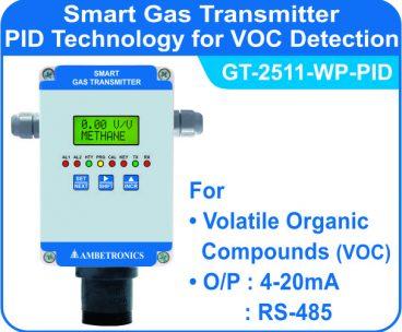 Weatherproof PID VOC Detector