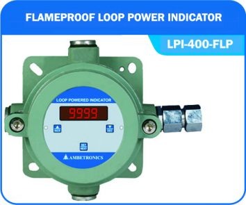 Loop powered indicator LPI-400-FLP (Flameproof Enclosure)