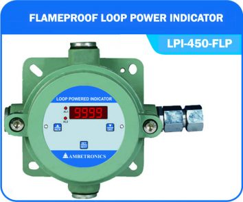 Loop powered indicator LPI-450-FLP (Flameproof Enclosure)