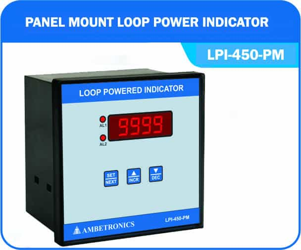 Loop powered indicator LPI-450-PM (Panel Mount Enclosure)