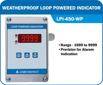 Loop powered indicator LPI-450-WP (Weatherproof Enclosure)