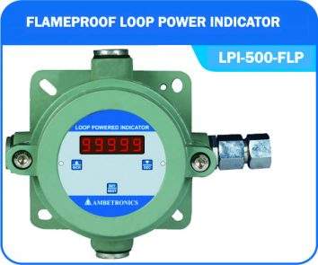 Loop powered indicator LPI-500-FLP (Flameproof Enclosure)