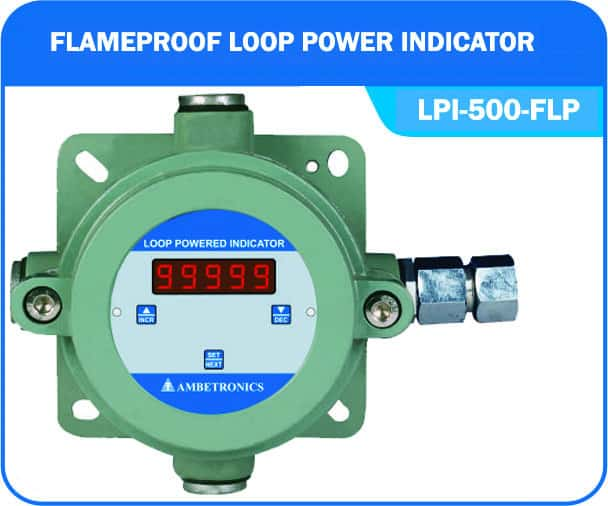 Loop powered indicator LPI-500-FLP (Flameproof Enclosure)