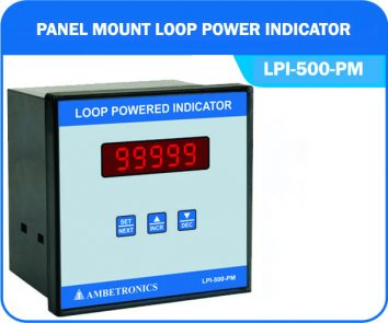 Loop powered indicator LPI-500-PM (Panel Mount Enclosure)