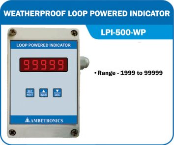 Loop powered indicator LPI-500-WP (Weatherproof Enclosure)