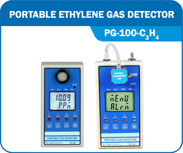Portable Ethylene Gas Detector PG-100-C2H4