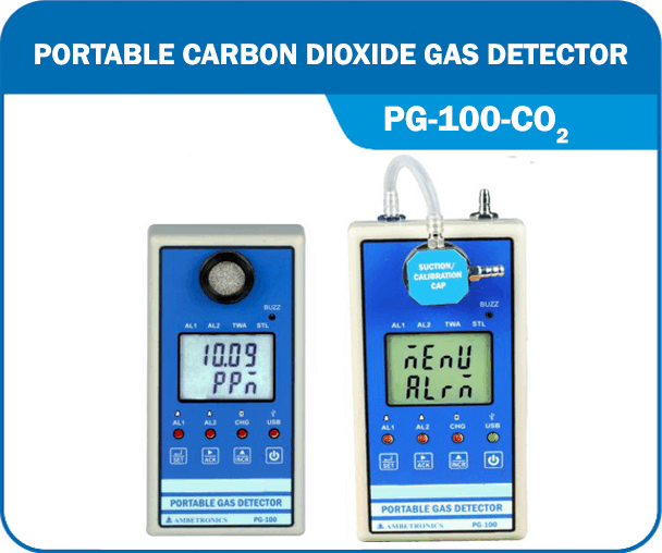 Portable Carbon Dioxide Gas Detector PG-100-CO2