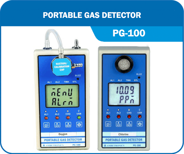 Portable Gas Detector PG-100-series