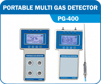 Portable Multi Gas Detector PG-400