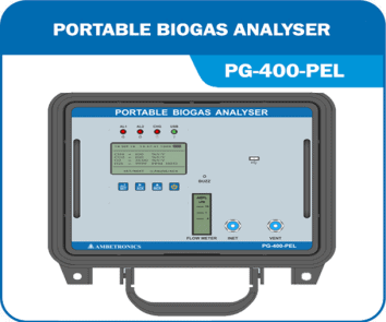 Portable Bio Gas Analyzer PG-400-PEL