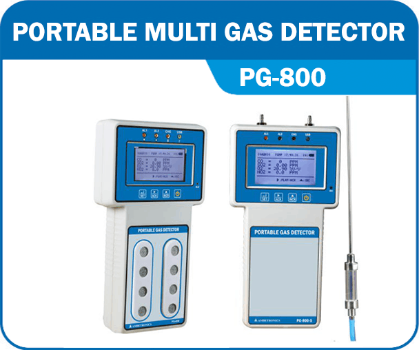 Portable Multi Gas Detector PG-800
