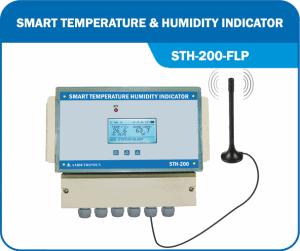 Weatherproof Wireless Temperature Humidity Indicators - STH-200-WP