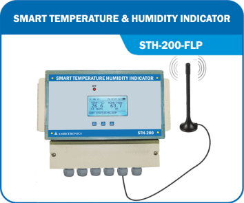 Weatherproof Wireless Temperature Humidity Indicators - STH-200-WP