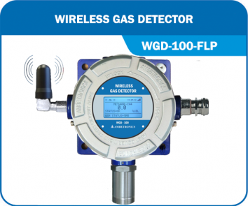 Wireless Gas Detector with flameproof enclosure - WGD-100-FLP