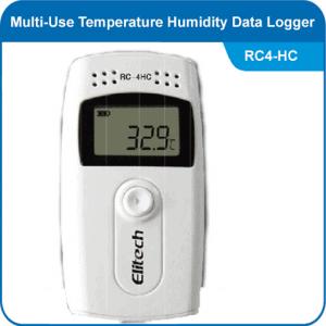 Multi use temperature humidity data logger Elitech RC-4HC