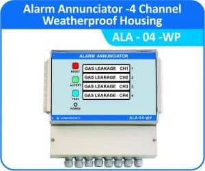 Alarm Annunciator ALA-04-WP (Weatherproof Enclosure)