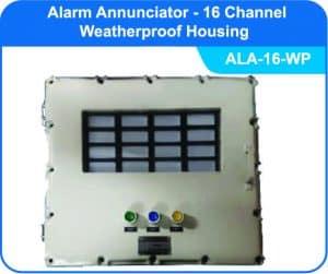 Alarm Annunciators ALA-16 with weatherproof enclosure