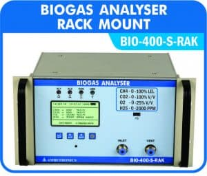 Biogas Analyzers with Rack mount enclosures