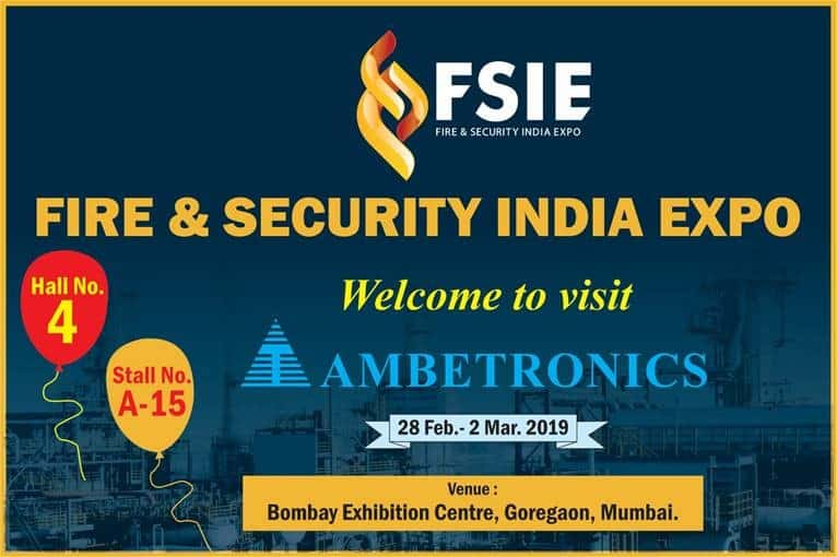 Fire & Security India Expo 2019, Mumbai.