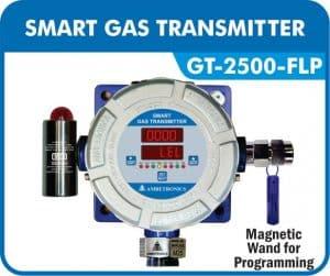 Smart Gas Transmitter- GT-2500-FLP with Hooter & blue enclosure.