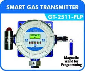Flameproof Gas Detector with Hooter cum flasher