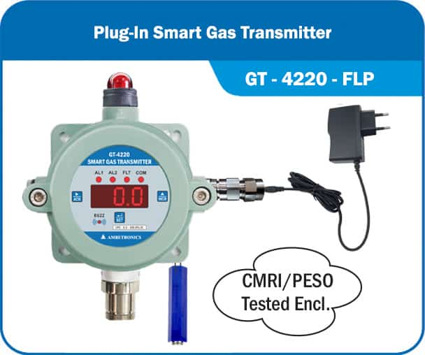 Plugin type PNG / LPG Gas Leak Detects for Commercial & Industrial Kitchens.