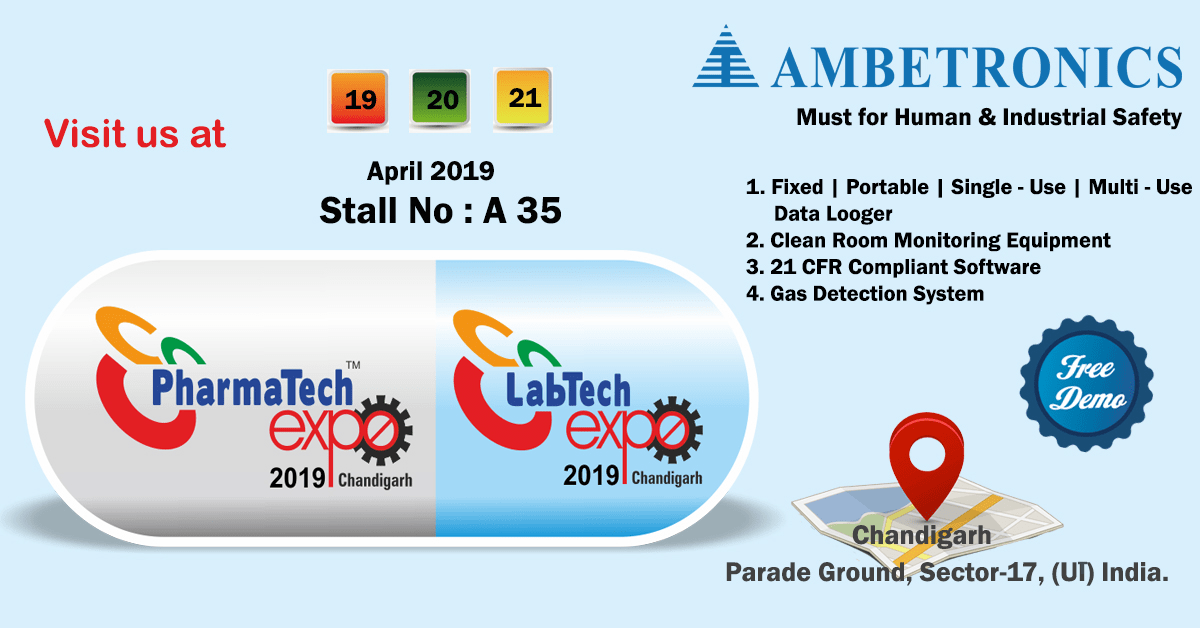 Pharmatech Expo 2019 / LabTech Exhibition at Chandigarh.