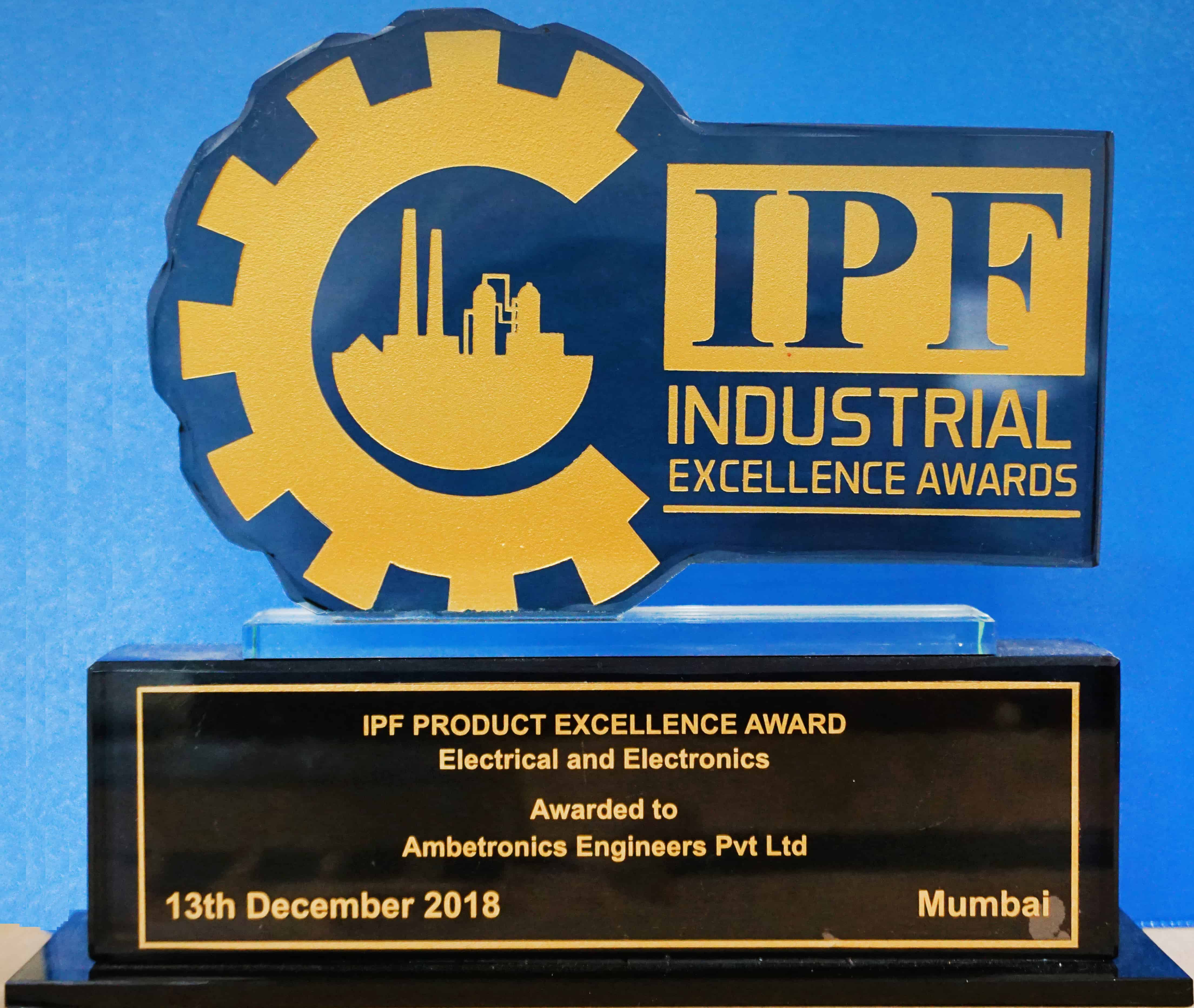 IPF Industrial Excellence Award 2018