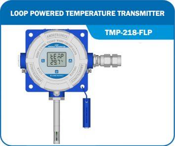 Loop Powered Temperature Transmitter TMP-218-FLP