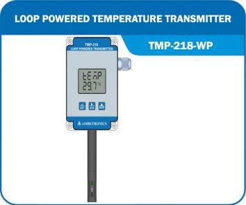 Loop Powered Temperature Transmitter TMP-218-WP